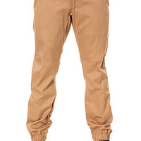 The Week-End Essentials Jogger Pants in Khaki