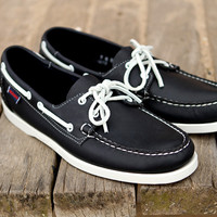 Sebago Dockside Blue Nite Boat Shoes | Ronnie Fieg x Sebago