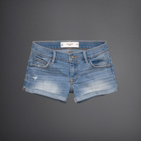 Gilly Hicks Low-Rise Denim Shorts