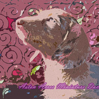 Dachshund Pop Art Print Photography Fuchsia, Magenta ~ Long Doggie ~ by AstonAcresDachshunds