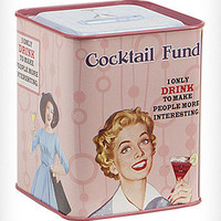Cocktail Fund Coin Bank | PLASTICLAND