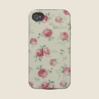 Vintage Red Roses Tough Iphone 4 Covers from Zazzle.com