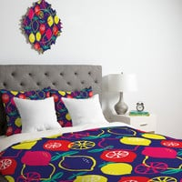 Zoe Wodarz Citrus Bliss Duvet Cover