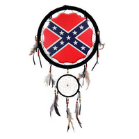 "13"" Dream Catcher - Rebel Flag  - Other"
