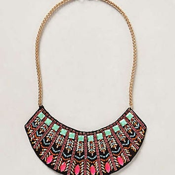Tandava Bib Necklace by Ranna Gill Multi One Size Necklaces