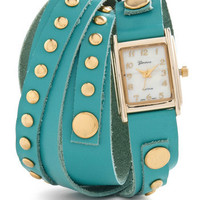 Wrap-sody in Blue Watch | Mod Retro Vintage Watches | ModCloth.com