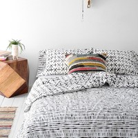 4040 Locust Dyed-Stripe Duvet Cover-