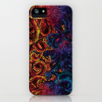 Monstrous Sea Creature iPhone & iPod Case by Caitlin Barnes | Society6