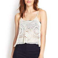 Open-Knit Cami