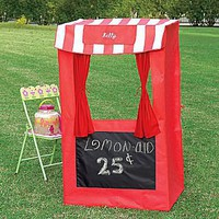 JCPenney : Personalizable Lemonade Stand/Puppet Theater Tent