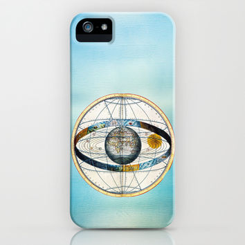Ptolemy's Zodiac Map iPhone & iPod Case by Catherine Holcombe | Society6