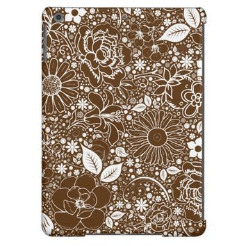 Botanical Beauties Brown, iPad Air Case