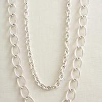 La Coco silver chain - necklace & Bracelt