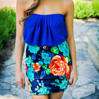 Flowers of Paradise Dress