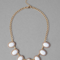 MERINO JEWELED NECKLACE