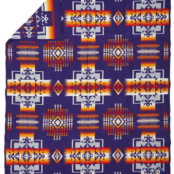 Native American Blanket,Chief Joseph Blanket, Purple, Pendleton® Blanket