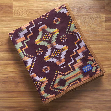 Native American Blanket, Beaded Bandolier Blanket, Pendleton® Blanket