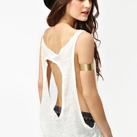 Raw Cut Tank in Collections Back Details at Nasty Gal