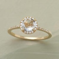 WHITE ROSE RING - Multi-Stone - Rings - Jewelry | Robert Redford&#x27;s Sundance Catalog