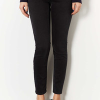 MOTO Washed Black Baxter Jeans - Washed Black