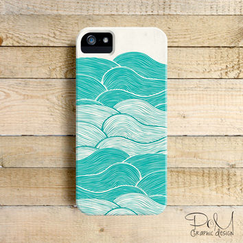 The Calm & Stormy Seas - iPhone 5/5c case, iPhone 4/4s case, Samsung Galaxy S3/S4