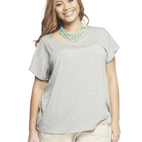 Ruched Back Tee | Wet Seal +