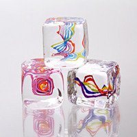 Squarbles: Nicholas Kekic: Art Glass Paperweights - Artful Home