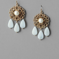HOMEWOOD PEARL DROP EARRINGS