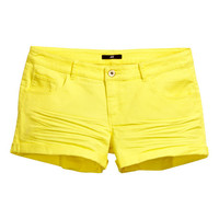 Short Twill Shorts - from H&M