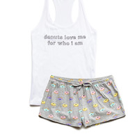 Donut Love PJ Set
