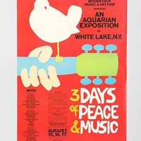 Woodstock Poster- Red One