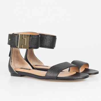 Rachel Zoe - Gladys Tumbled Leather Sandals