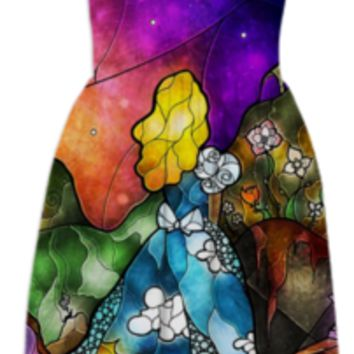 Wonderland Summer Dress created by mandiemanzano | Print All Over Me