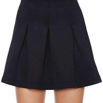 Nasty Gal Eliana Skirt - Black