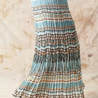Womens Cattlelac Ranch ® Broomstick Skirt Gypsy Blue