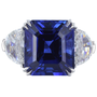 Magnificent Sapphire & Diamond Ring - David & Company
