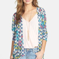 Painted Threads Dolman Sleeve Knit Cardigan (Juniors)