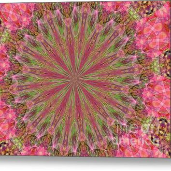 Abstract Pink Galaxy Acrylic Print