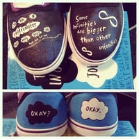 The Fault in Our Stars Custom Canvas Shoes