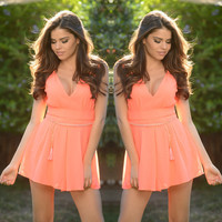Sleeveless Chic Romper