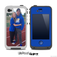 The Add Your Own Photo Skin for the iPhone 4-4s frē LifeProof Case - iPhone