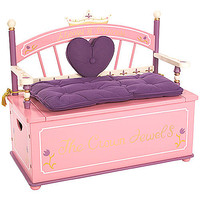 Always a Princess Toy Box Bench
