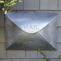Envelope Mailbox | Pottery Barn