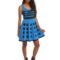 Doctor Who Her Universe Blue Dalek Dress