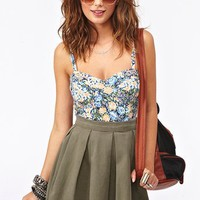 Brianna Floral Tank in Clothes at Nasty Gal