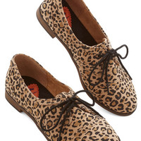ModCloth Statement Readily Reliable Flat in Leopard