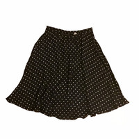 Navy Lady Polka Dot Skirt