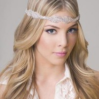 Silver Head Bands - Jovan Jane JJE-12 | UsTrendy