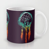 Dream Catcher (the rustic magic) Mug by Budi Satria Kwan