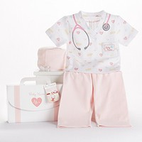 Sweet Little Baby Nurse Gift Set (Monogram Available)